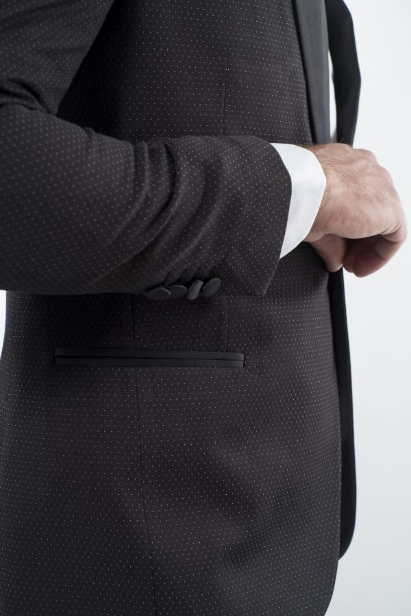 Tailored evening suit