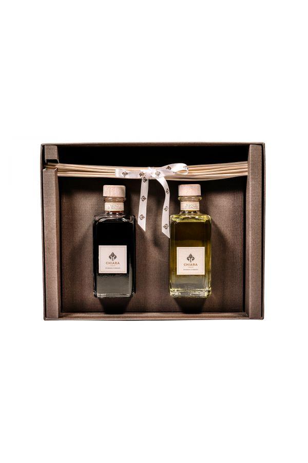 Zestaw Chiara Firenze - zestaw 2 zapachów Rosso Fiorentino 200 ml i Ostro 200 ml