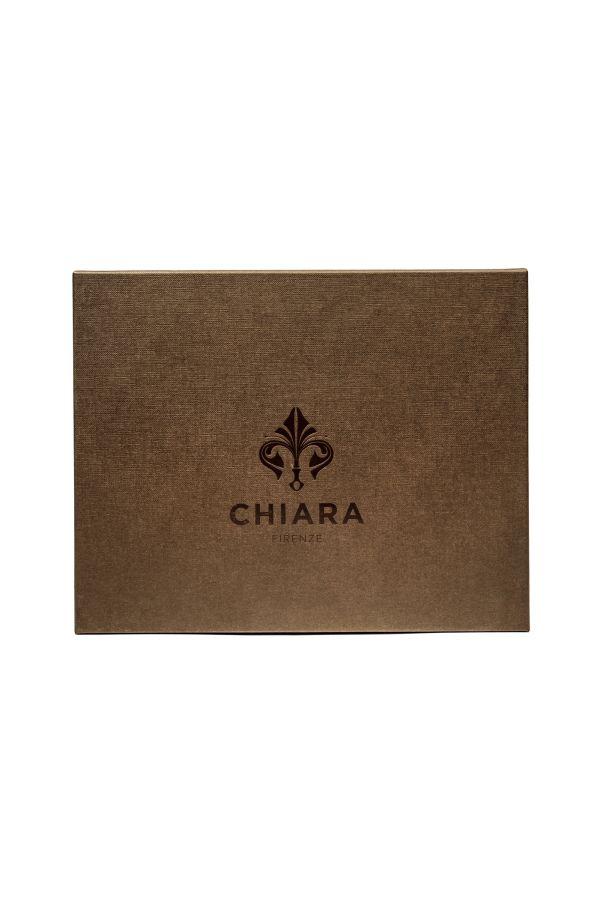 Zestaw Chiara Firenze Urtica – perfumy Cipria w ozdobnej butelce + uzupełnienie Urtica 250 ml