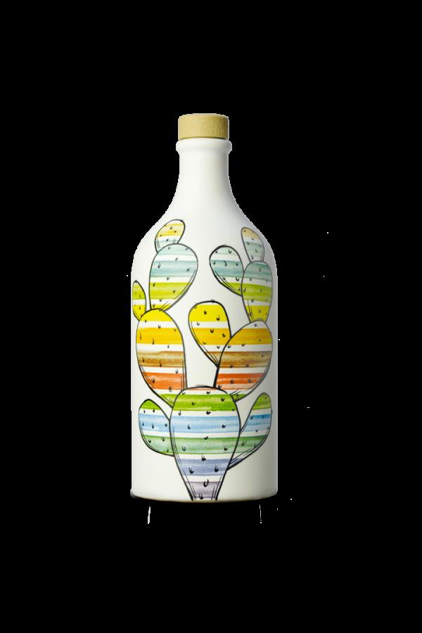 Opuncja - ceramiczny dzbanek z oliwą o posmaku owocowym 500ml