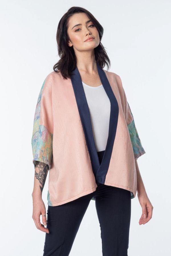 Aqua kimono