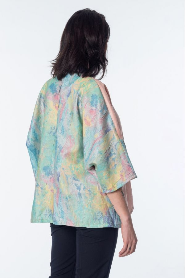 Kimono aqua