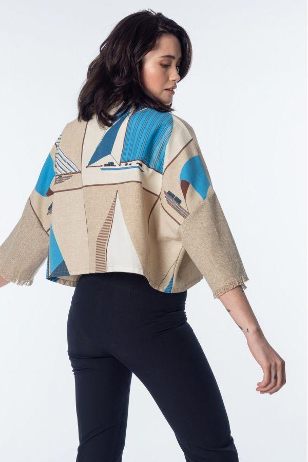 Nautical kimono