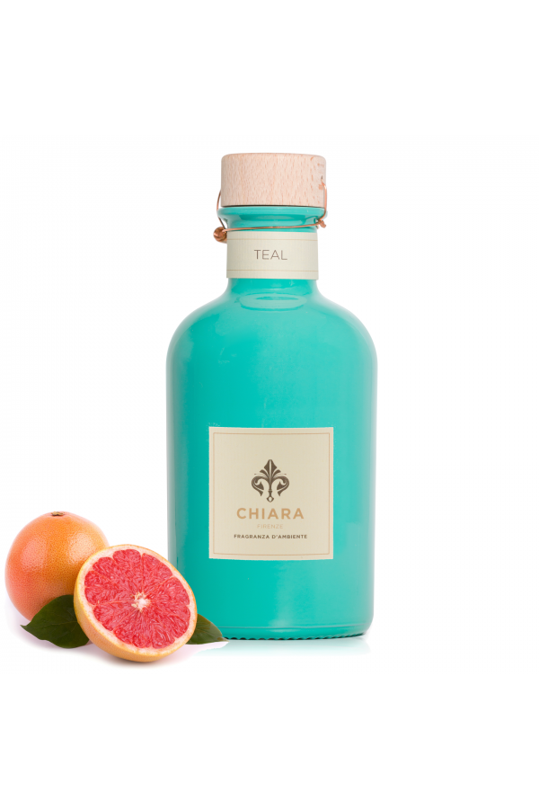 Teal colored bottle 250ml