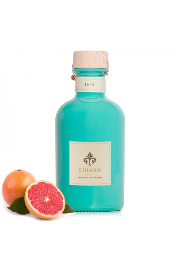 Teal – intensywny zapach owocowo-żywiczny w kolorowej butelce 250 ml