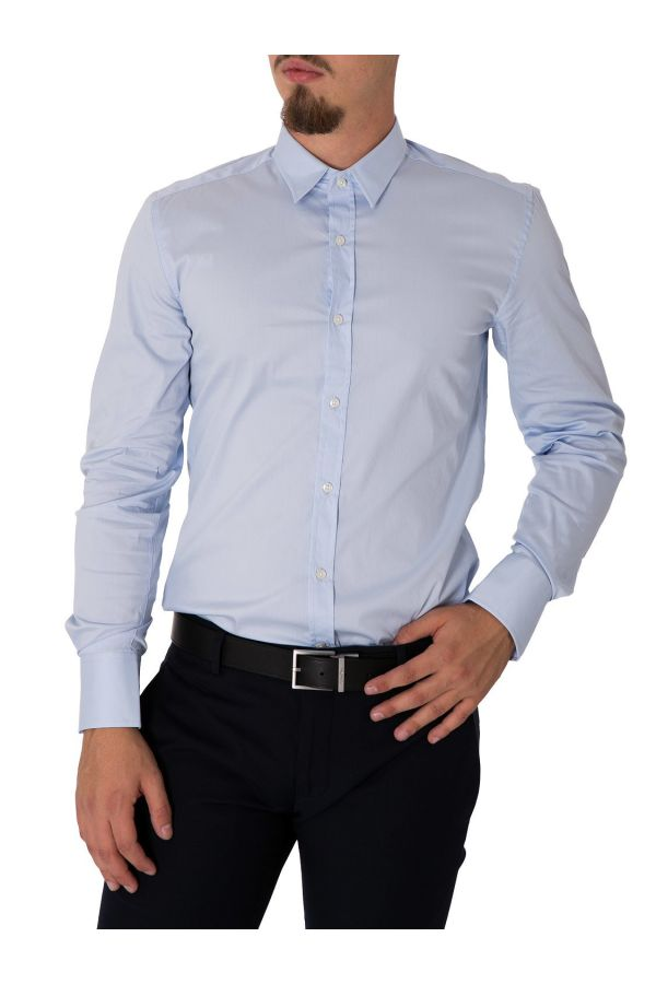 Antony Morato Men Shirt - WH7-BASICA_132 - light blue