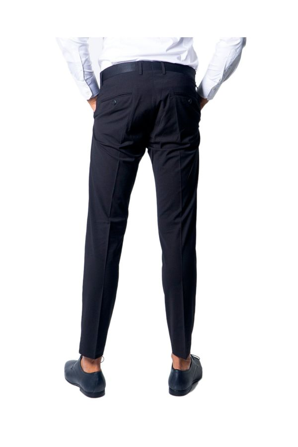 Antony Morato Men Trousers - Slim Blanche - black