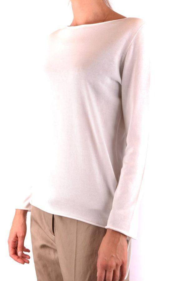 Fabiana Filippi Sweter Kobieta - WH6-BC35651-CL109-bianco - Biały